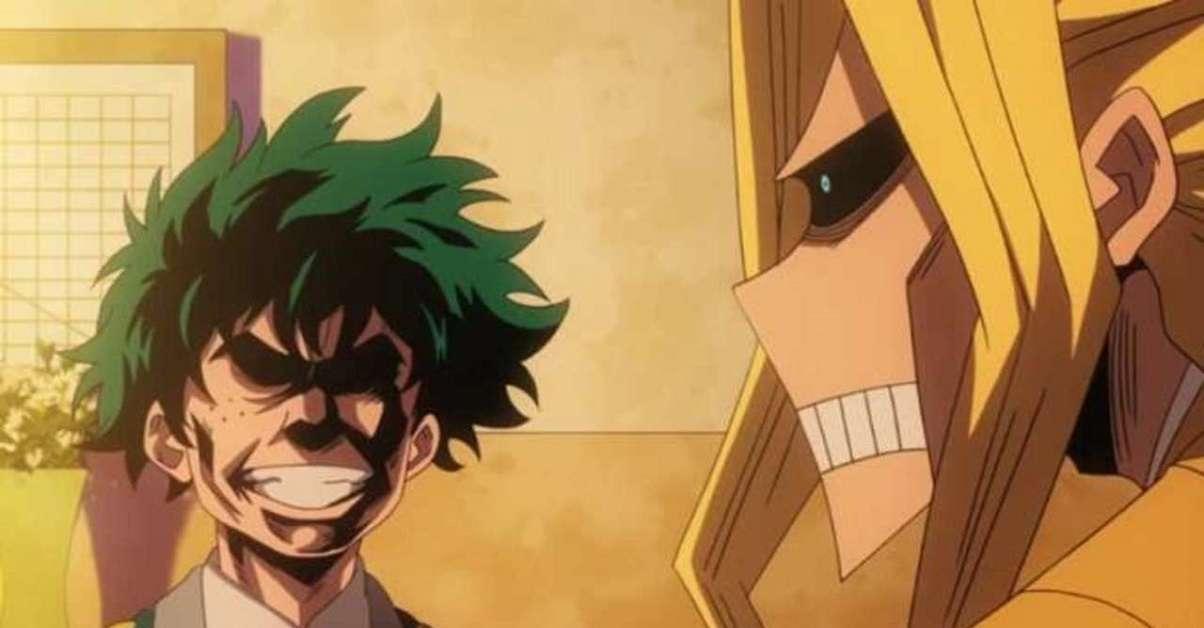 My Hero Academia All Might Midoriya Face