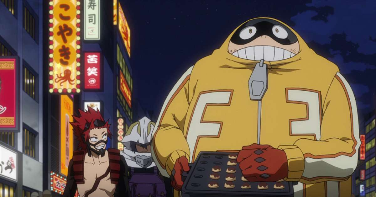 My Hero Academia Fat Gum