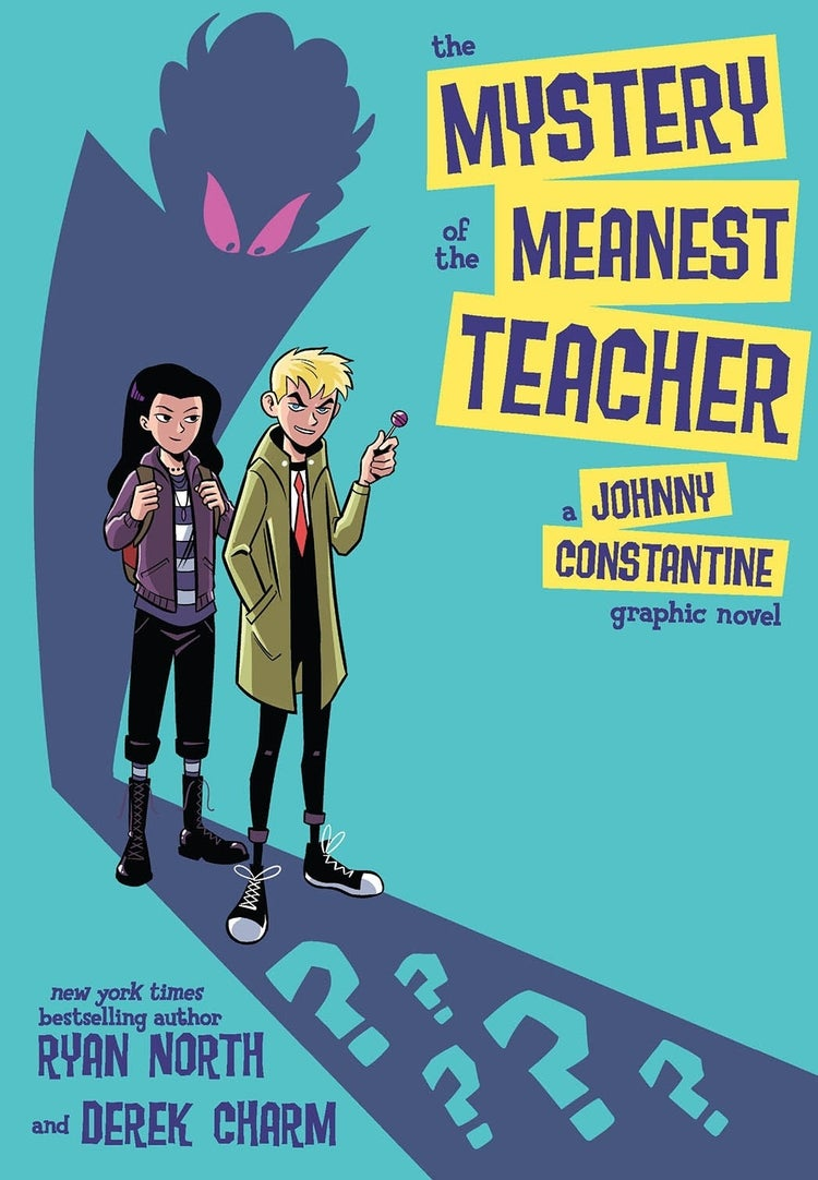 mystery of the meanest teacher john constantine cover
