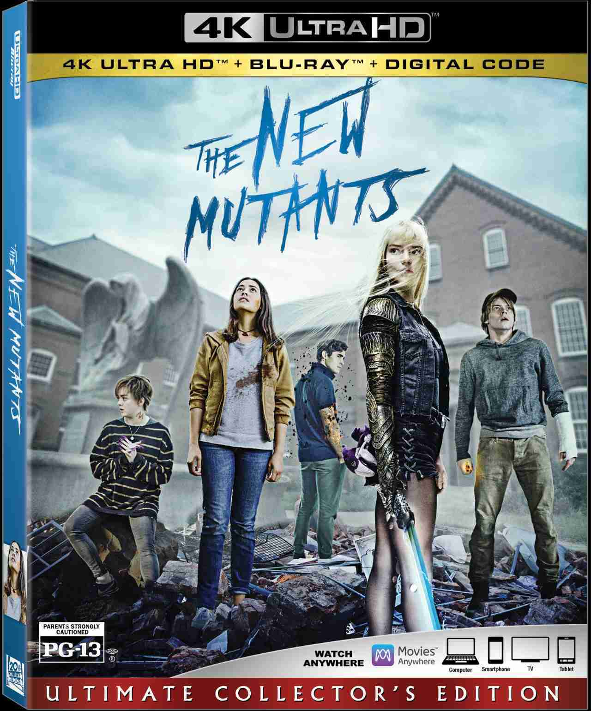 Novo filme de mutantes em Blu Ray