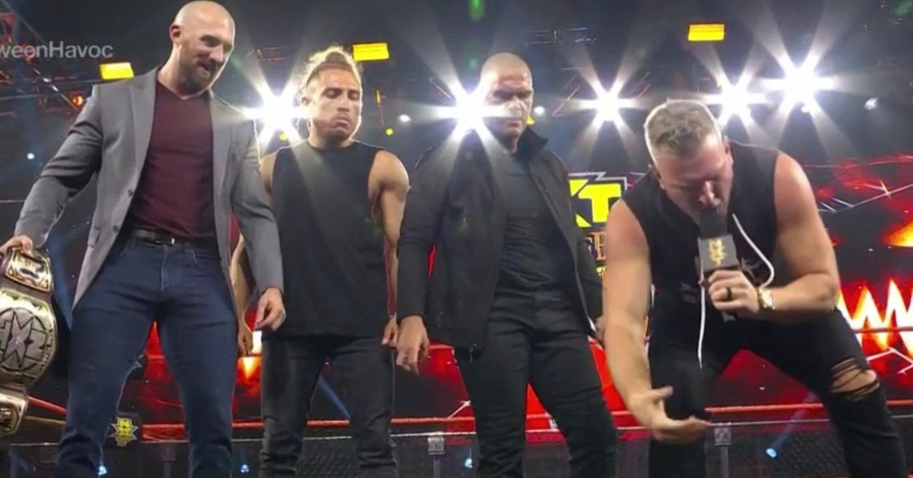 NXT's Pete Dunne Returns and Joins Pat McAfee