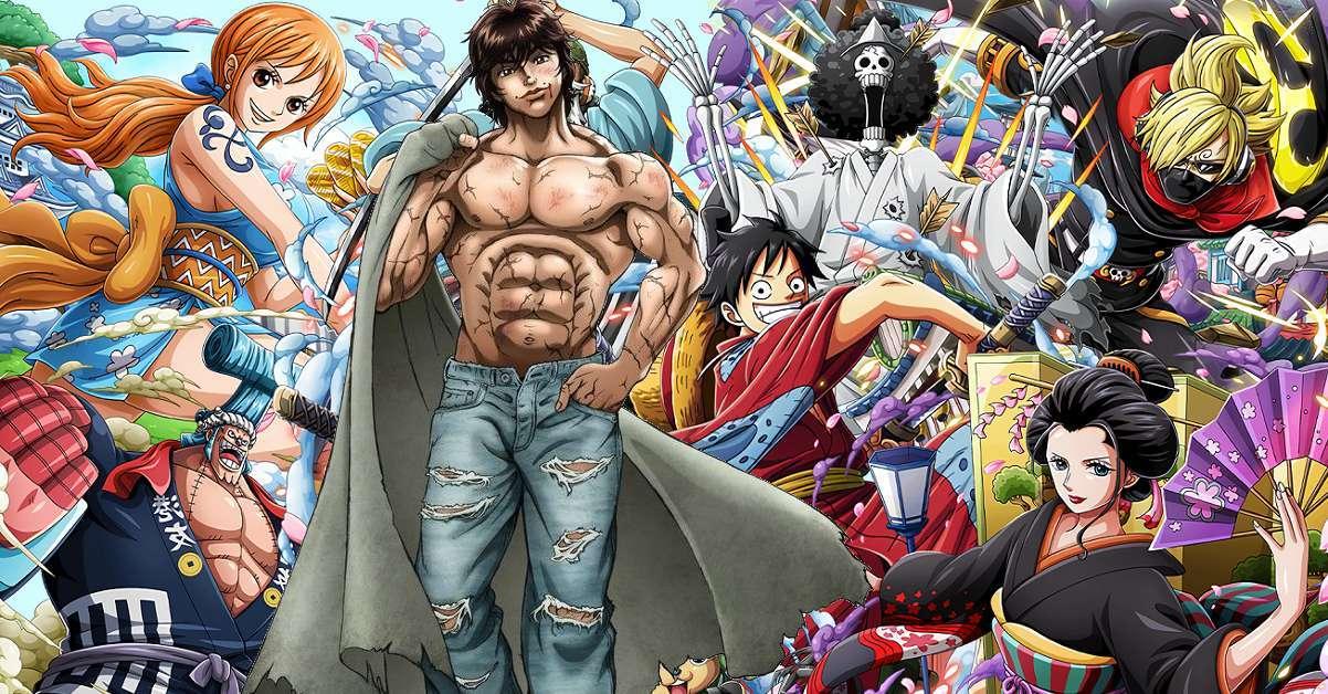 One Piece Baki Anime