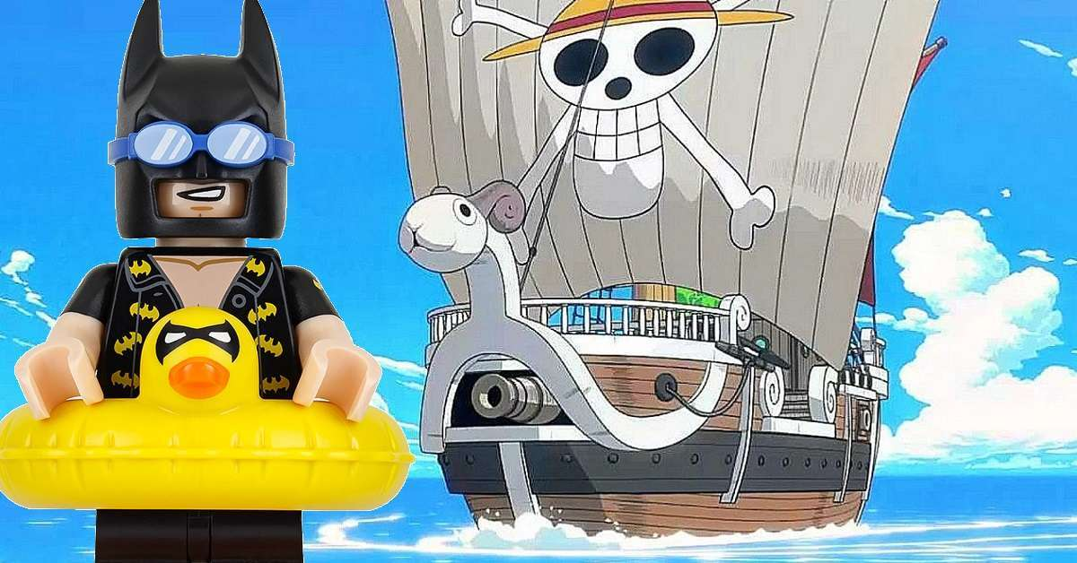 One Piece Going Merry Lego