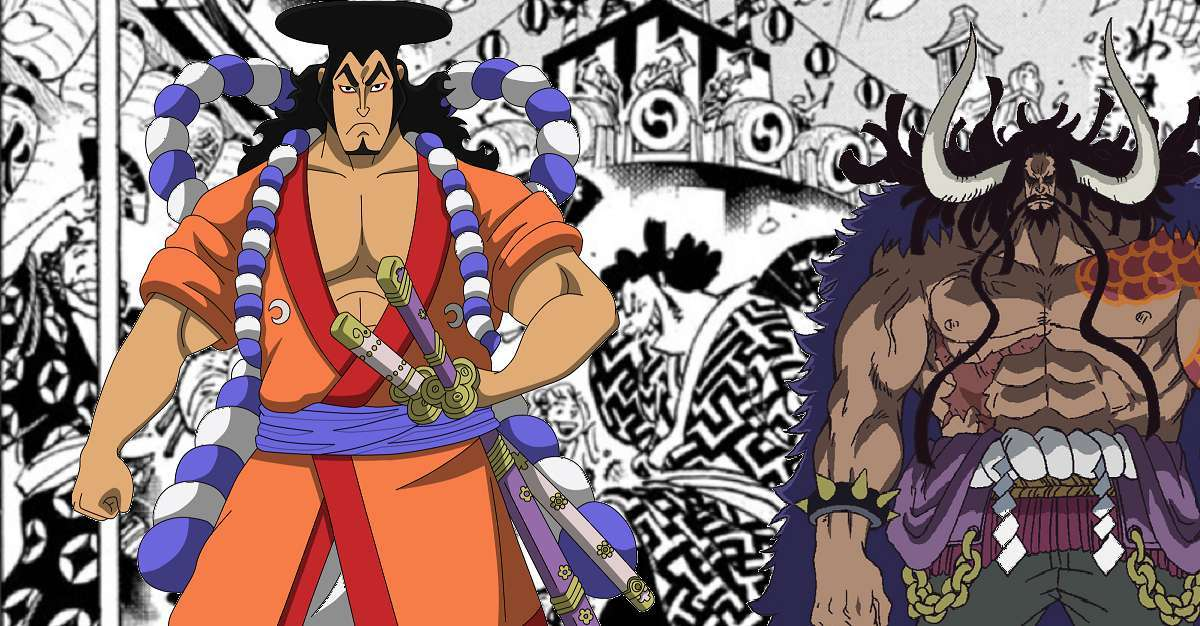 One Piece Oden Kaido
