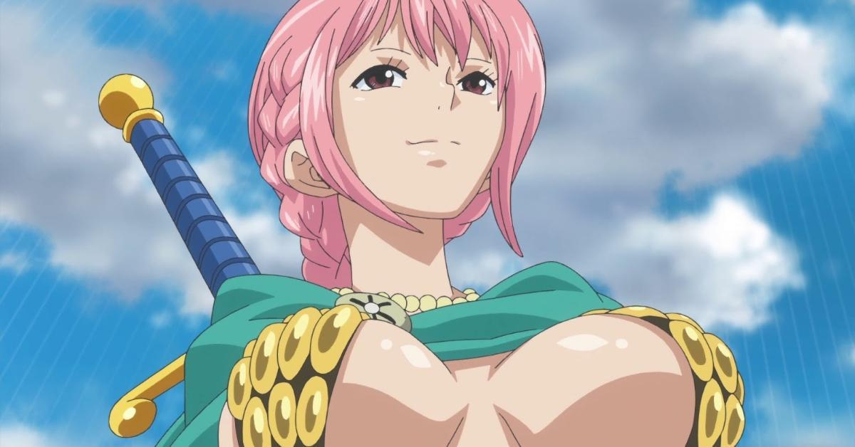 One Piece Rebecca Dressrosa Arc Anime