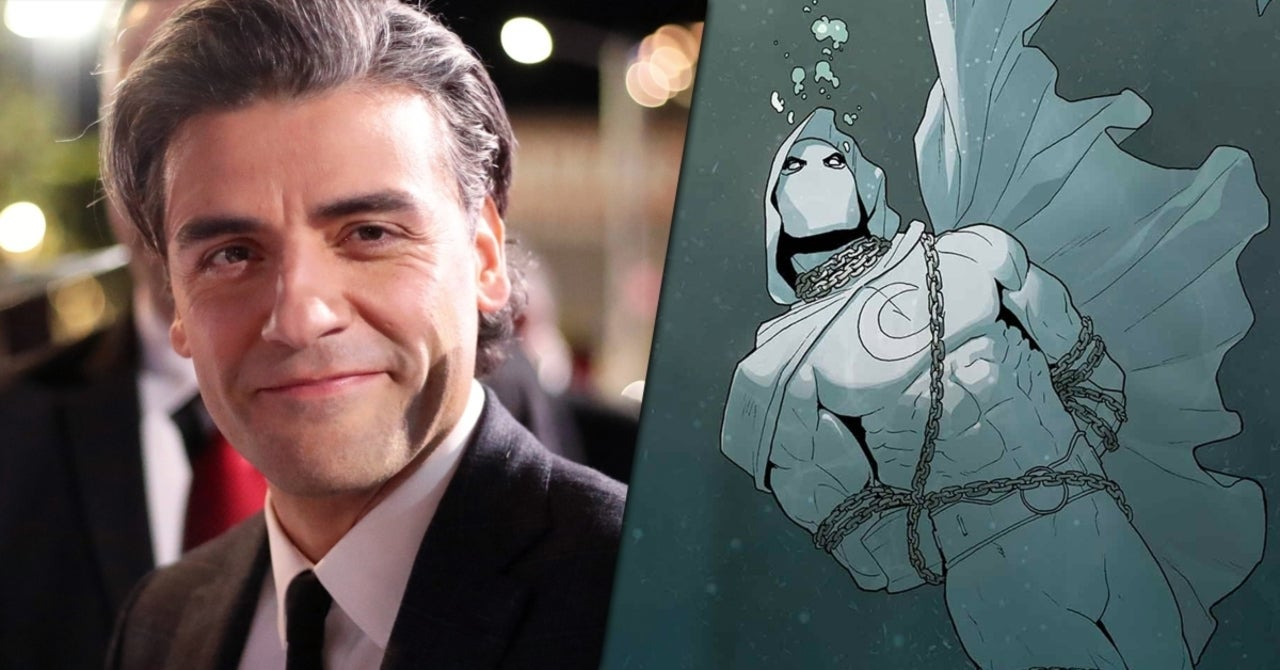 Moon Knight: Here's What Oscar Isaac Could Look Like as Marc Spector