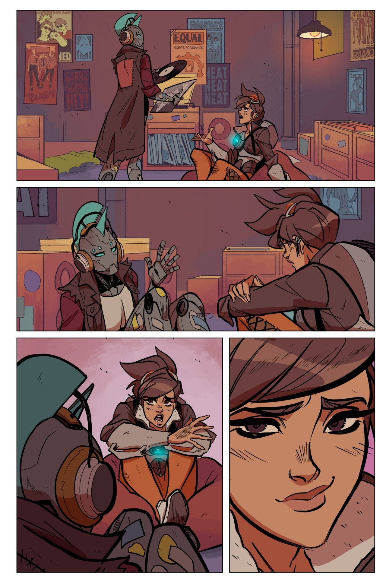 overwatch tracer comic 2 preview 4