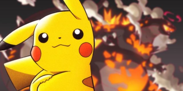 Pokemon Detective Pikachu Artist Godzilla Ghidorah Gigantamax Forms