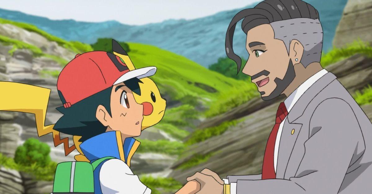 Pokemon Journeys Sword Shield Arc Ash Chairman Rose