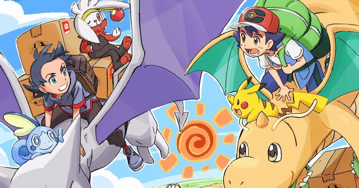 Pokemon Journeys Timeslot Change Fridays Shuhei Yasuda Anime Art