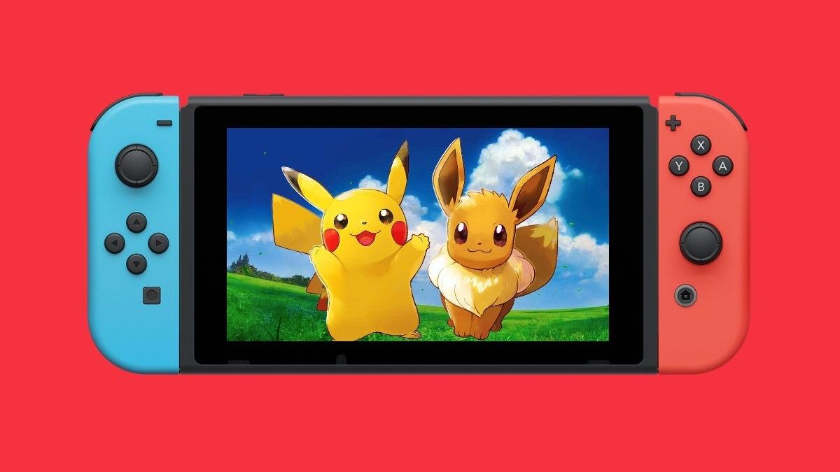 pokemon nintendo switch pokemon-game