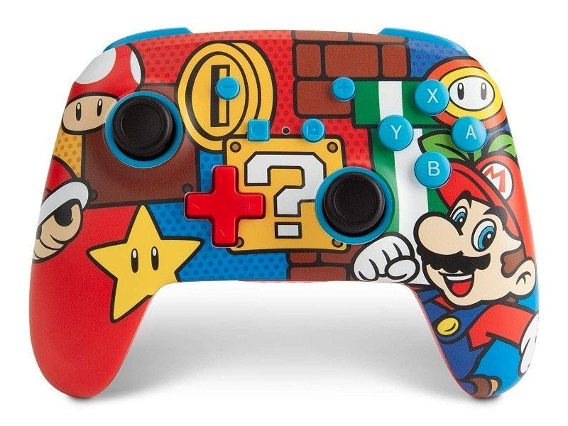 Nintendo Switch Getting New Mario Controllers
