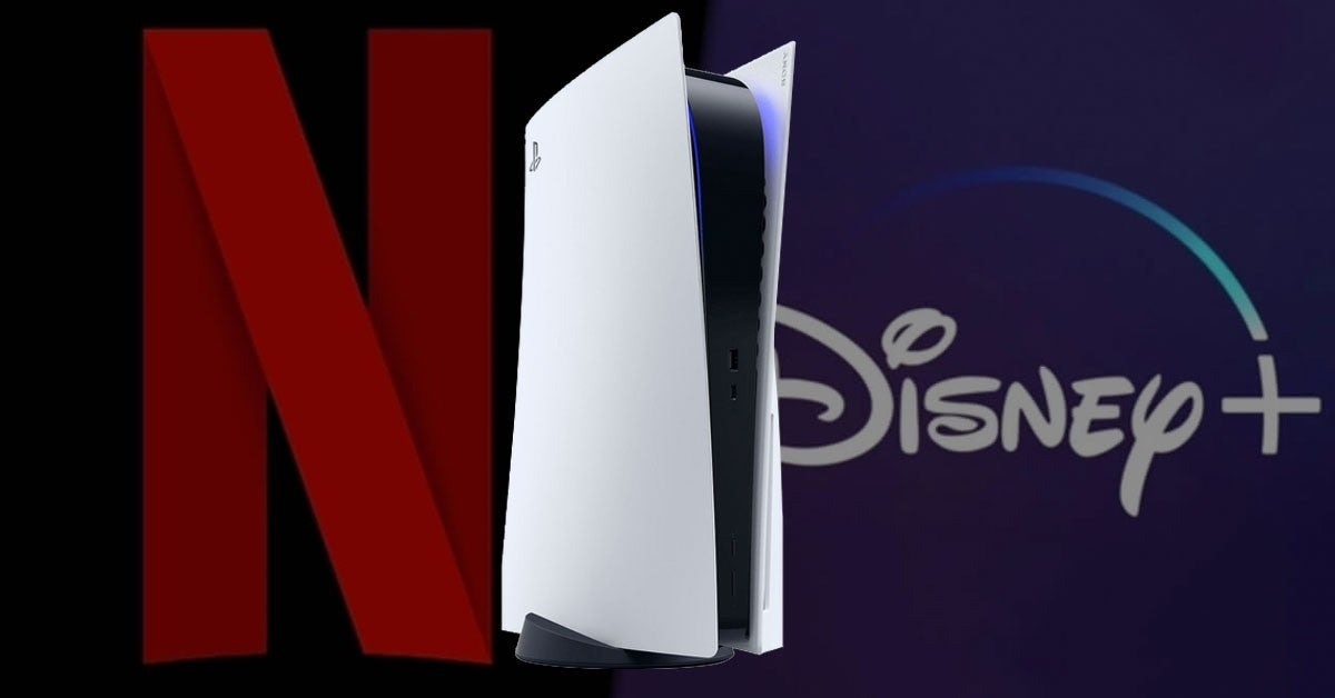 ps5 netflix disney streaming app