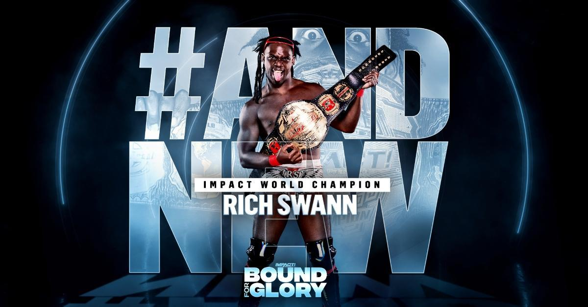 Rich Swann Impact World Champion Eric Young Defeat Bound for Glory