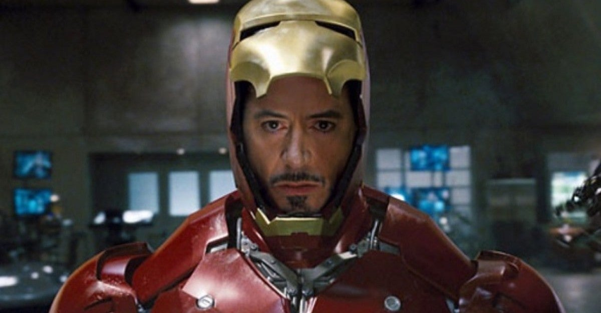 Robert Downey Jr Iron Man Original Helmet Blinding LED Lights