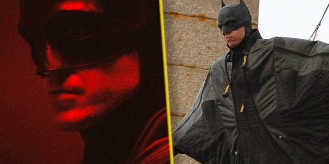 robert pattinson the batman set stunt man