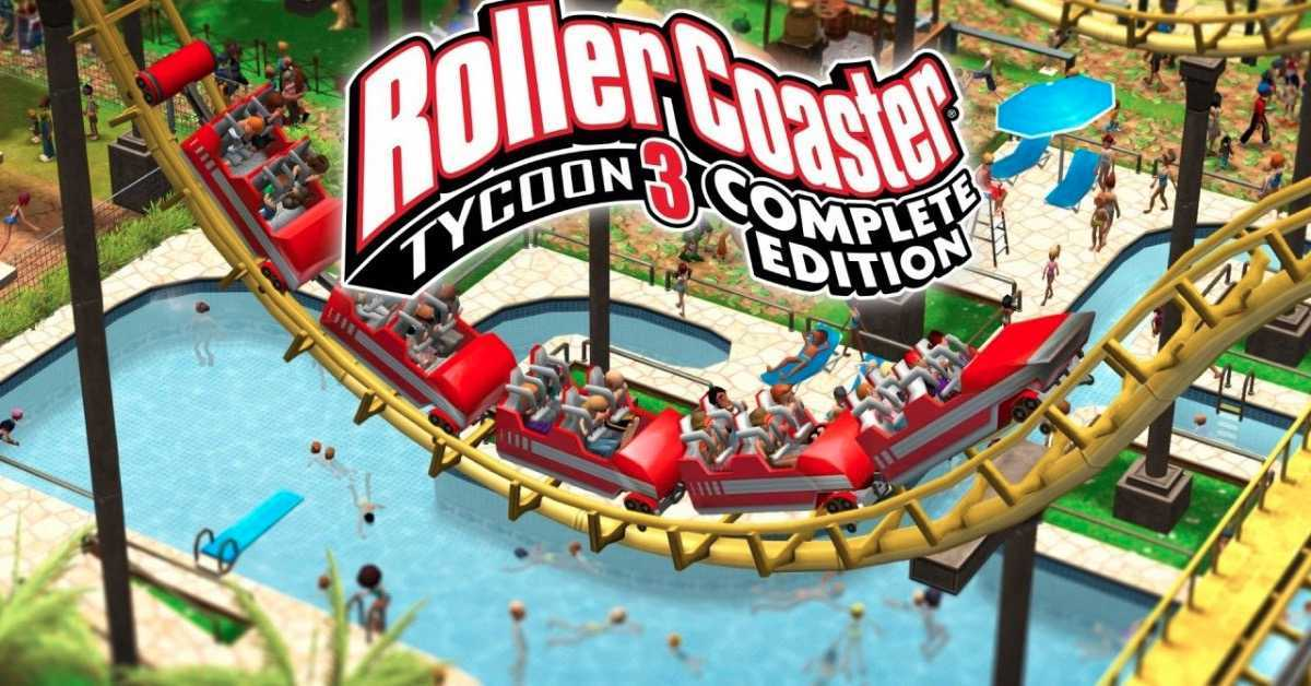 RollerCoaster Tycoon 3-1