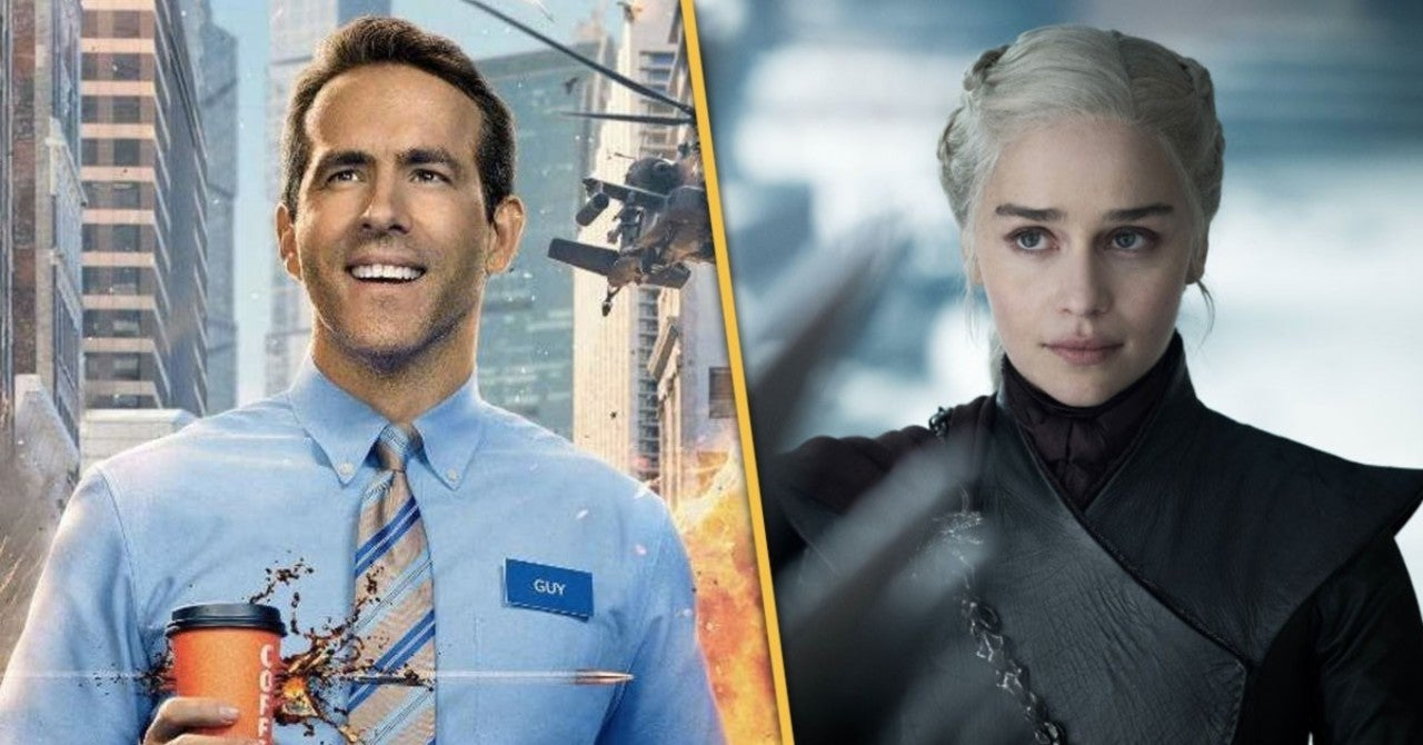 Ryan Reynolds Jokes He Moved Emilia Clarke's Birthday, Because It Was Feeling A Little Crowded For Him