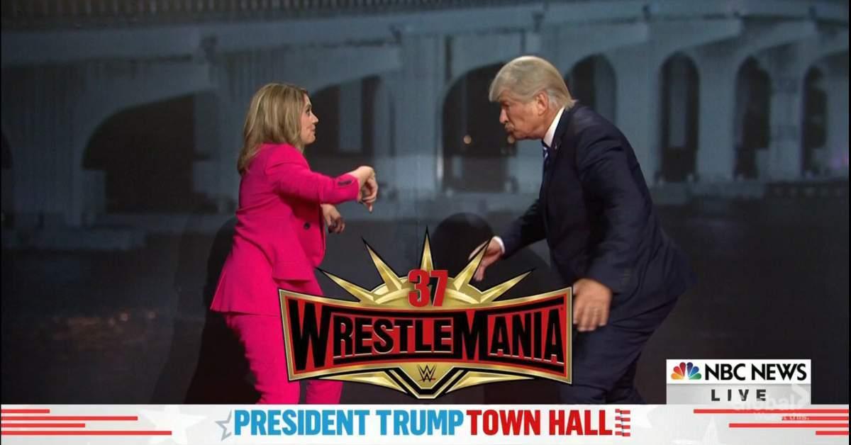 saturday night live donald trump wrestlemania