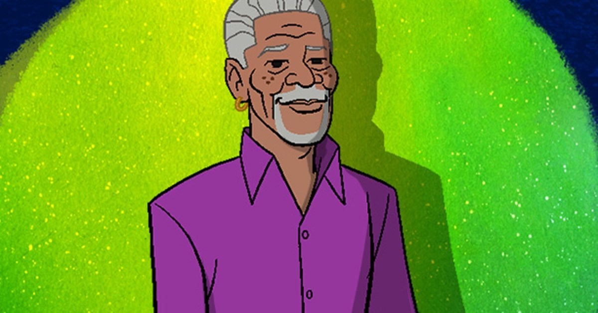 scooby doo morgan freeman