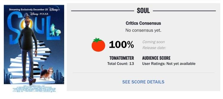 soul rotten tomatoes