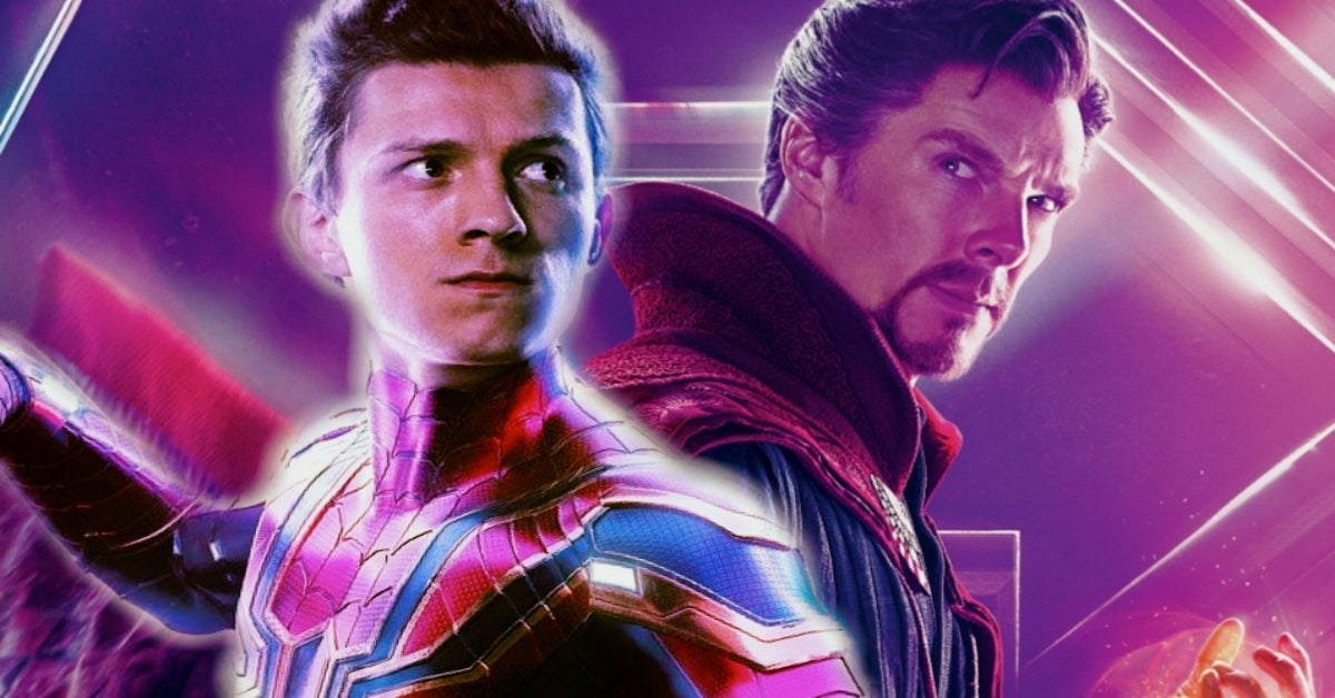 Spider-Man 3 Tom Holland Benedict Cumberbatch COMICBOOKCOM