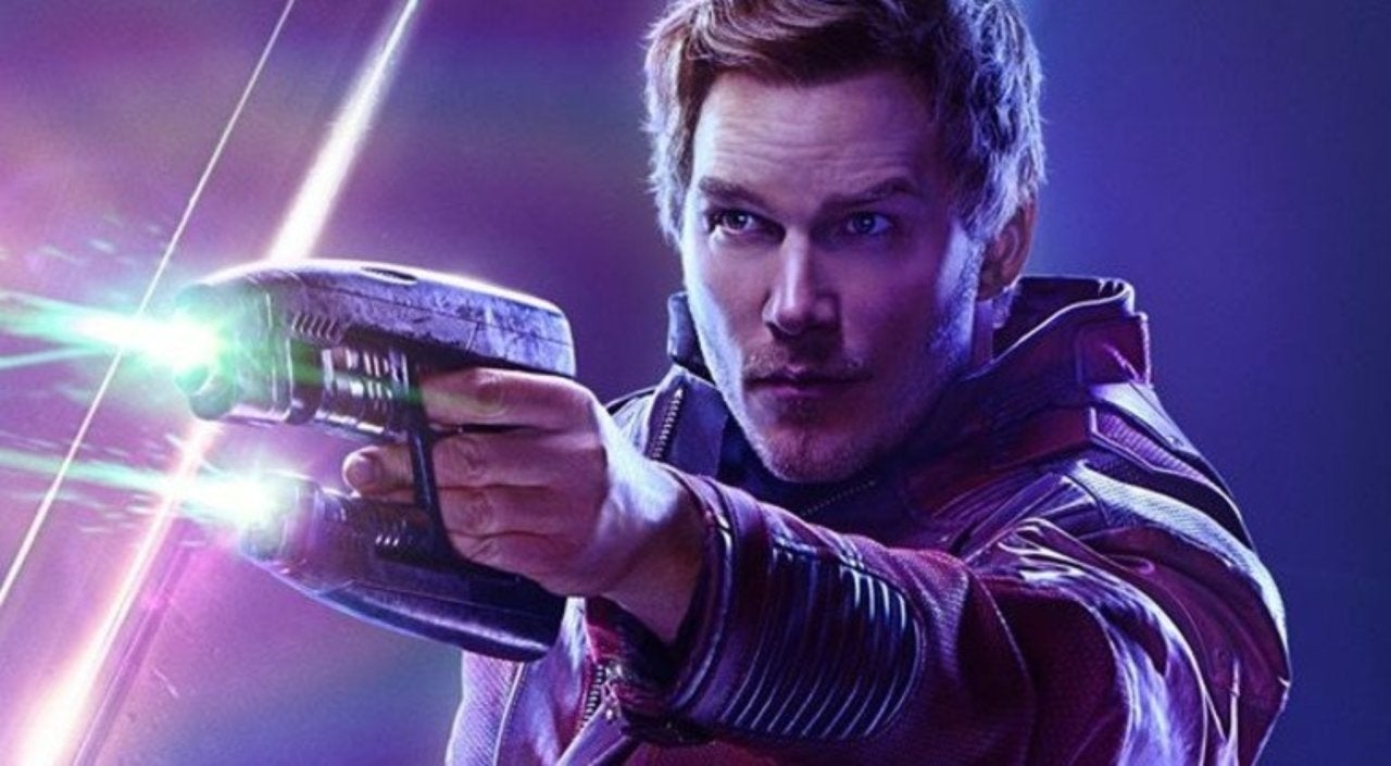 star-lord infinity war poster