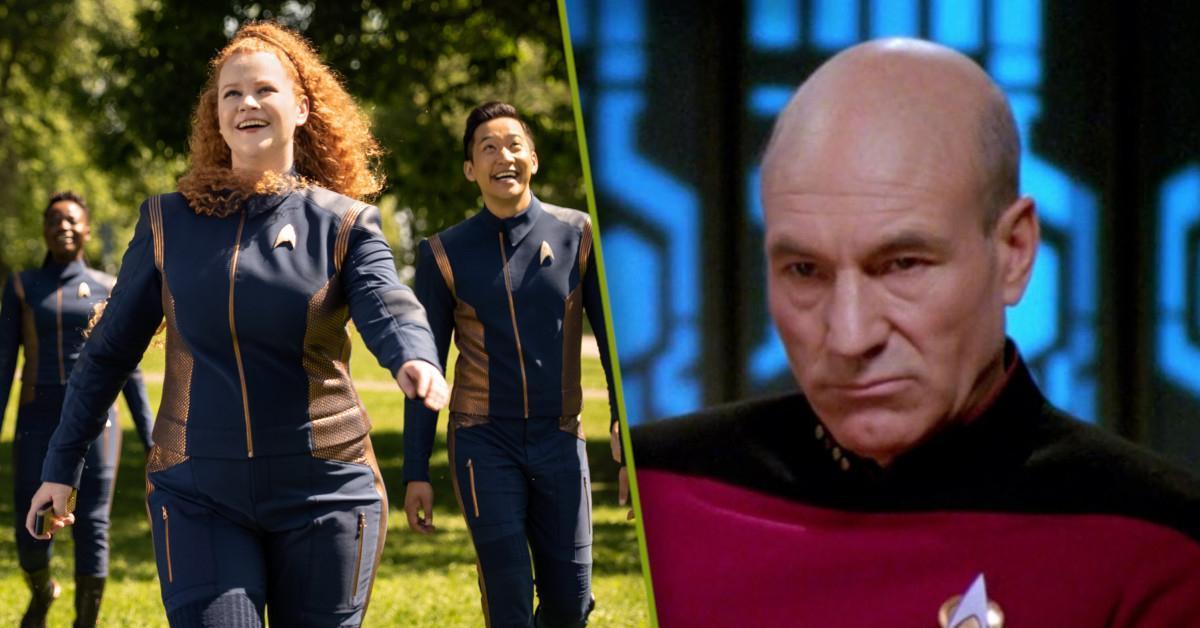 Star Trek Discovery Picard Starfleet Academy Tree