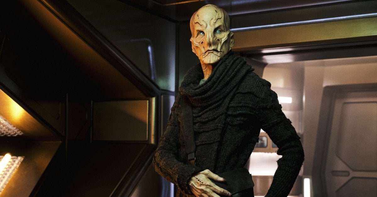 Star Trek Discovery Saru Doug Jones Interview