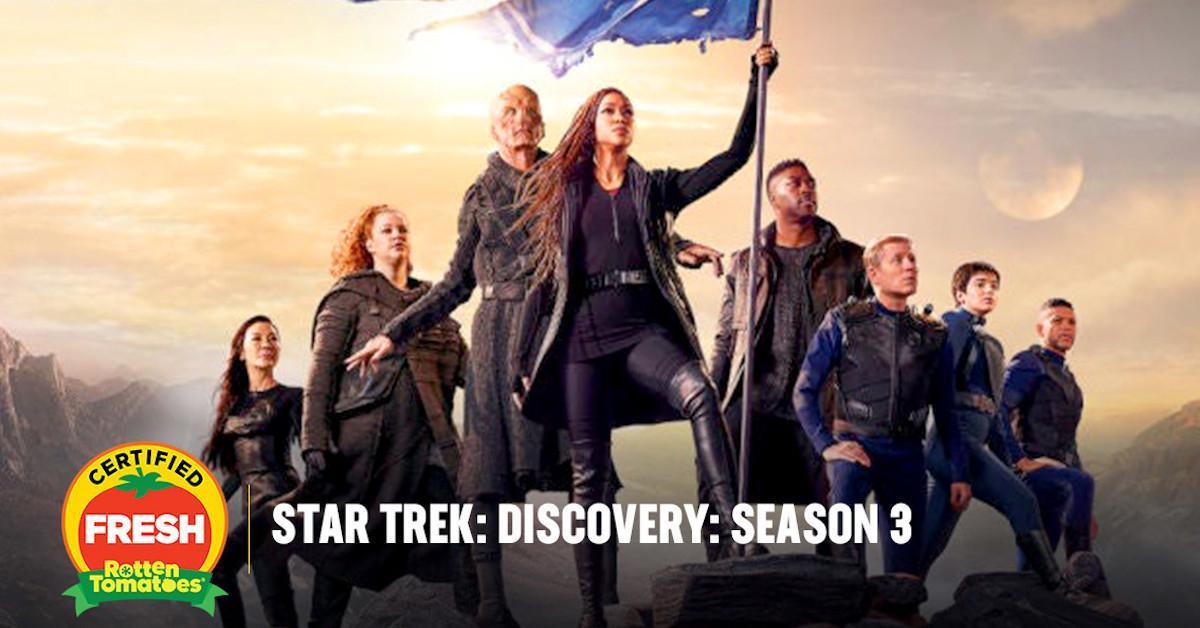 Star Trek Discovery Season 3 Certified Fresh