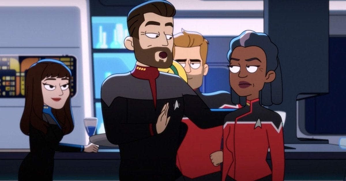 Star Trek Lower Decks Uniforms Titan