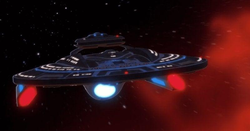 Star Trek Lower Decks USS Titan