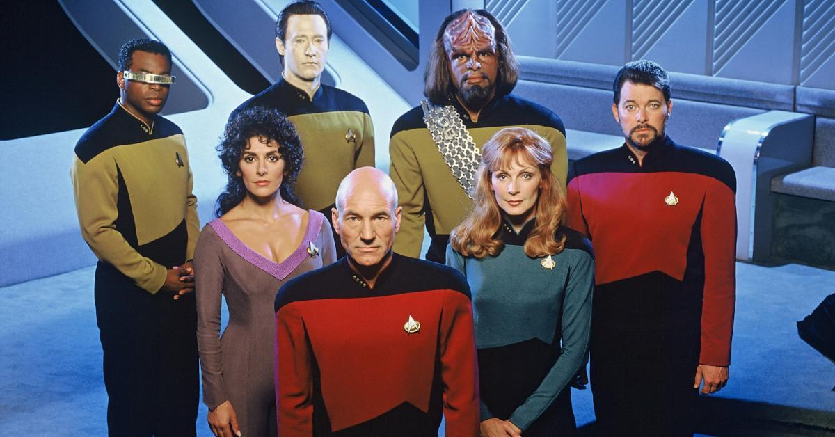 Star Trek The Next Generation Crew