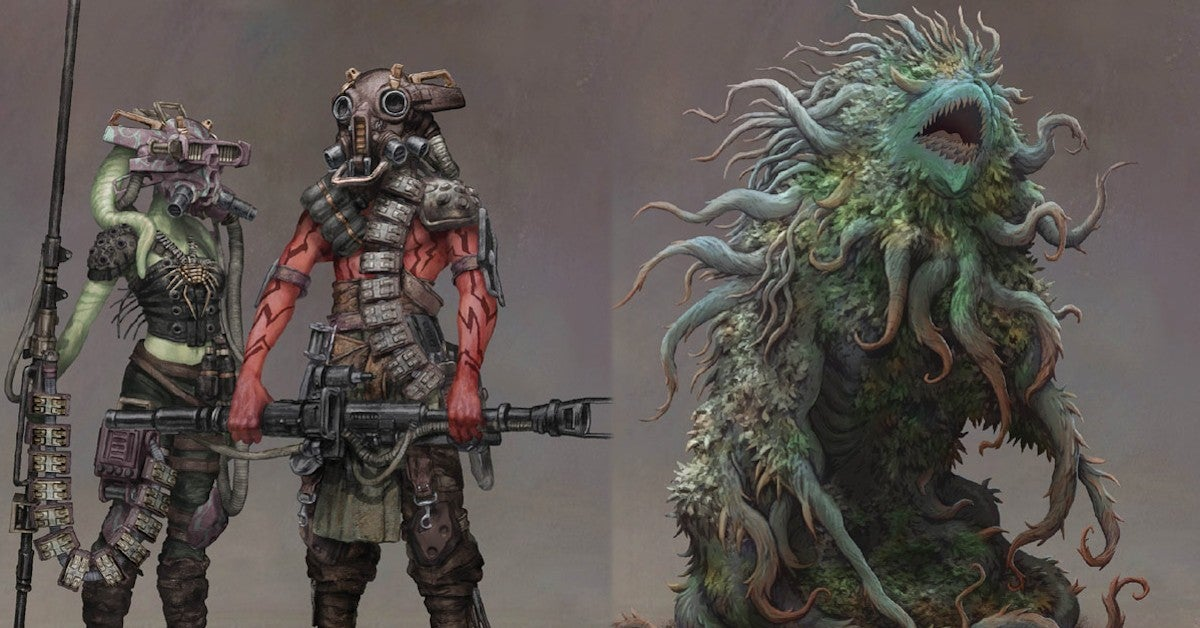 Star Wars High Republic Villains Concept Art
