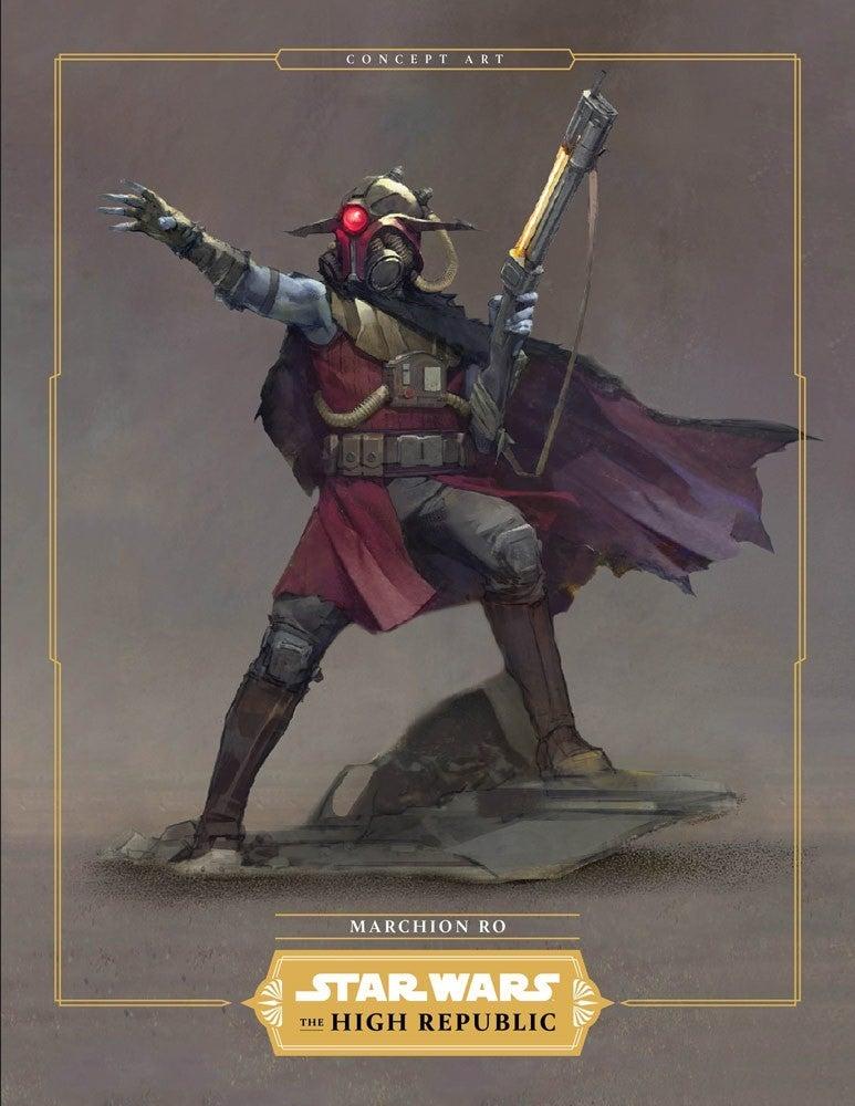 Star Wars High Republic Villains Marchion Ro