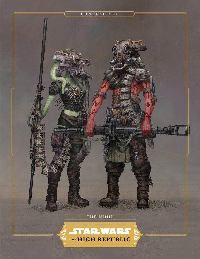 Star Wars High Republic Villains The Nihil