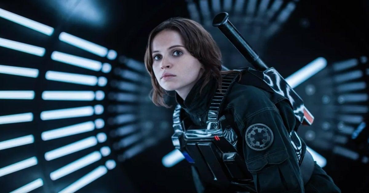 Star Wars Rogue One Jyn Erso Felicity Jones