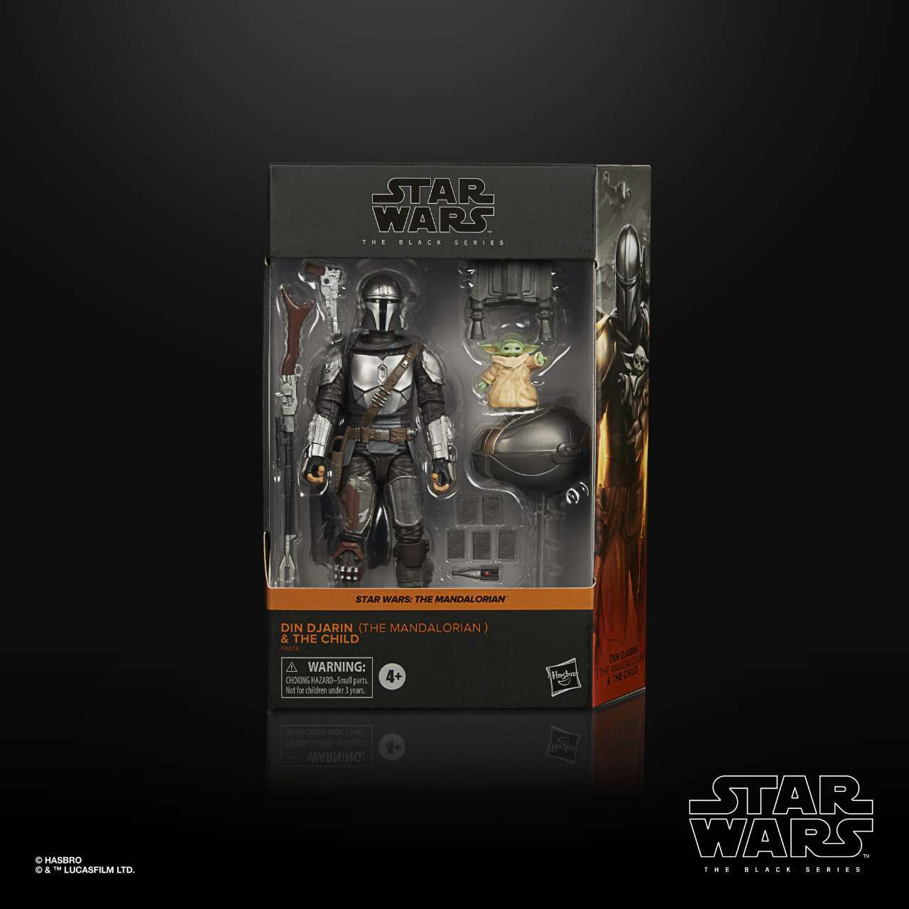 STAR WARS THE BLACK SERIES 6-INCH DIN DJARIN (THE MANDALORIAN) & THE CHILD BUILD-UP PACK - in pck (2)