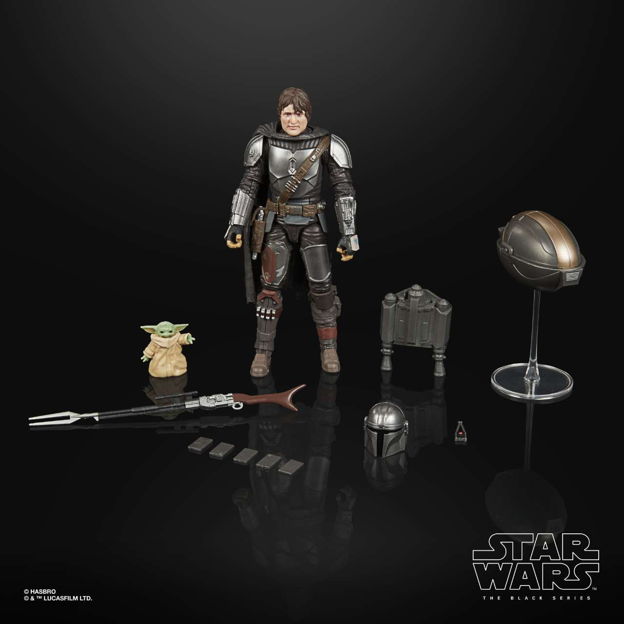 STAR WARS THE BLACK SERIES 6-INCH DIN DJARIN (THE MANDALORIAN) & THE CHILD BUILD-UP PACK - oop (7)
