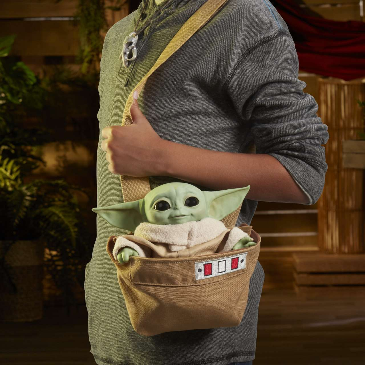 Remote-Controlled Baby Yoda Plush Is the Star of Mando Monday