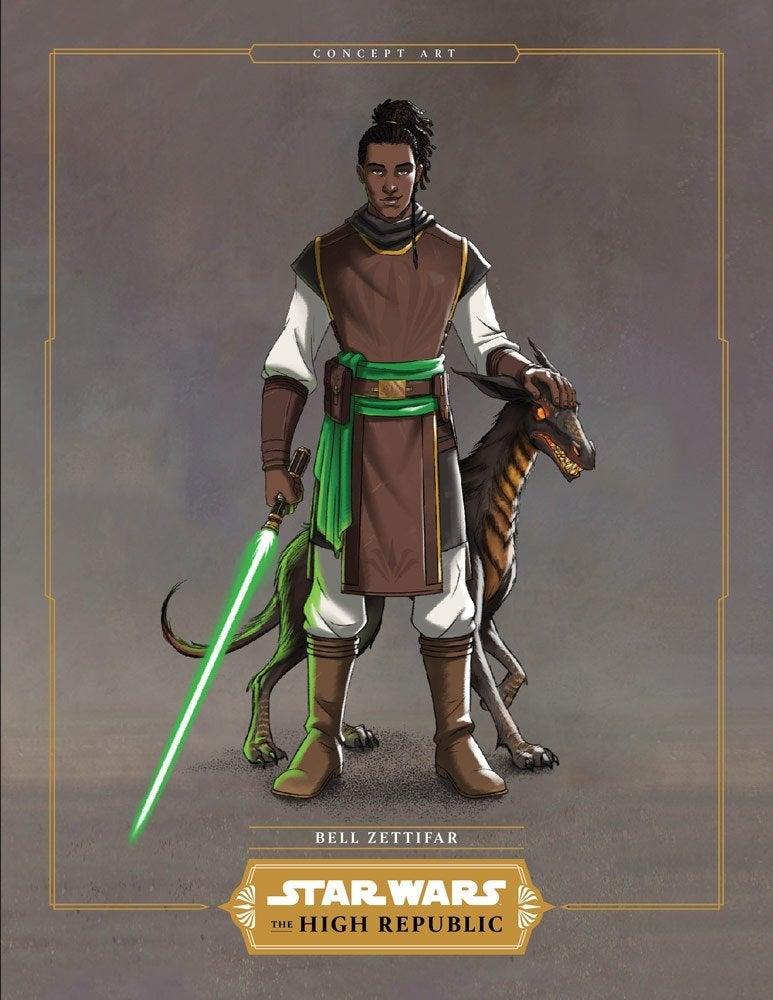 Star Wars The High Republic Bell Zettifar