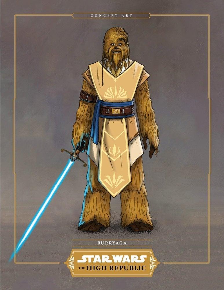 Star Wars The High Republic burryaga