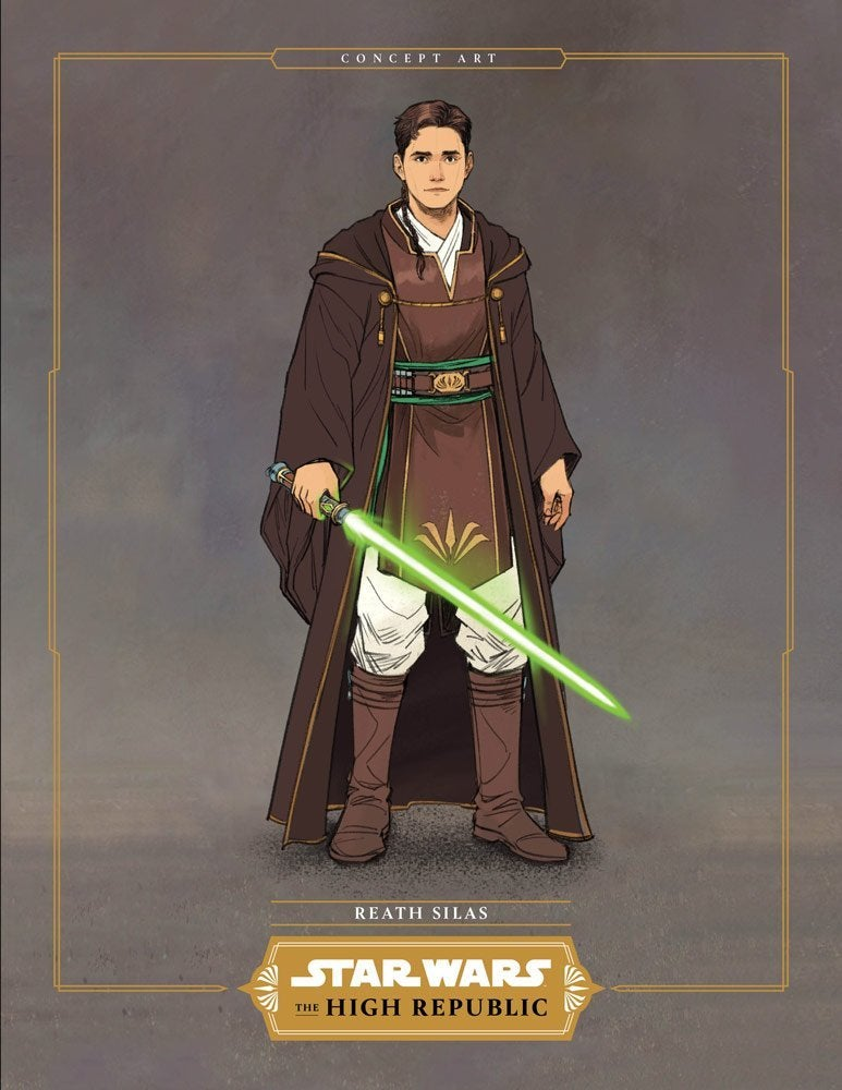 Star Wars The High Republic reath silas