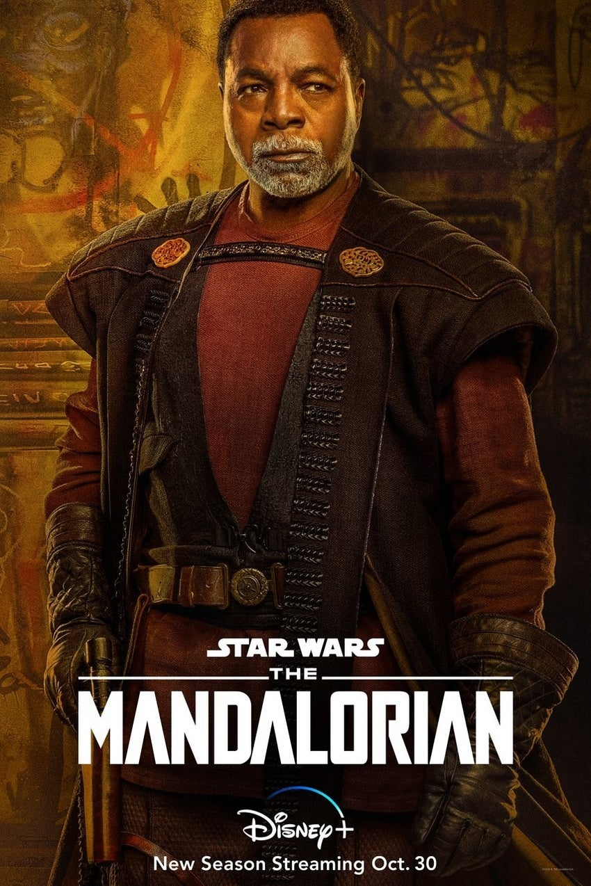 Star Wars The Mandalorian Season 2 Character Posters Carl Weathers