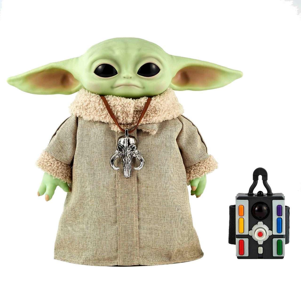 Star Wars Mandalorian The Child Baby Yoda Animatronic Toy Disney Hasbro IN HAND