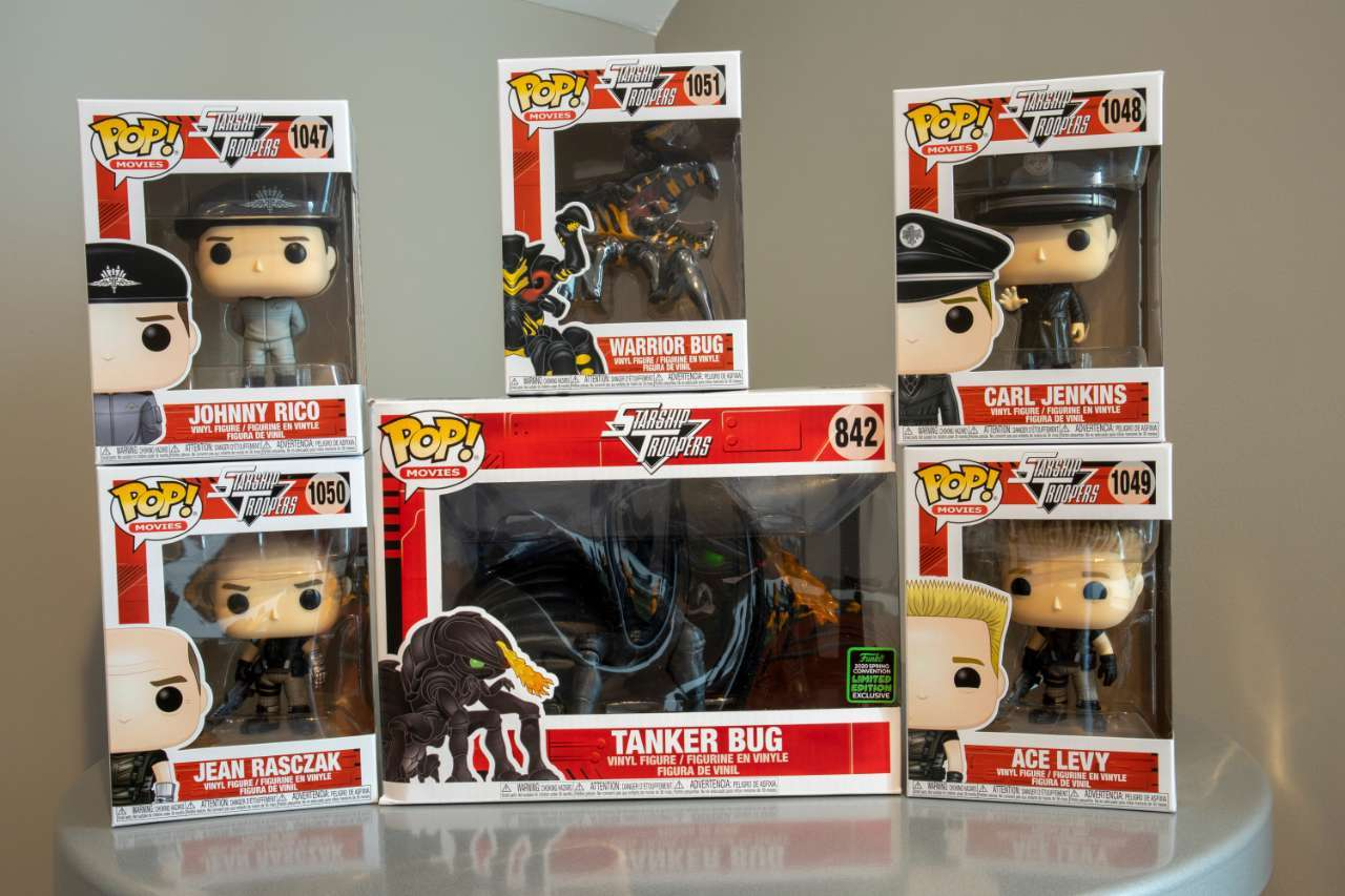 starship-troopers-funko-pop-collection