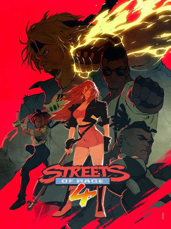 Streets-Of-Rage-4-Poster-Variant