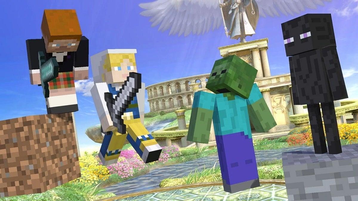 Super Smash Bros Ultimate Minecraft DLC