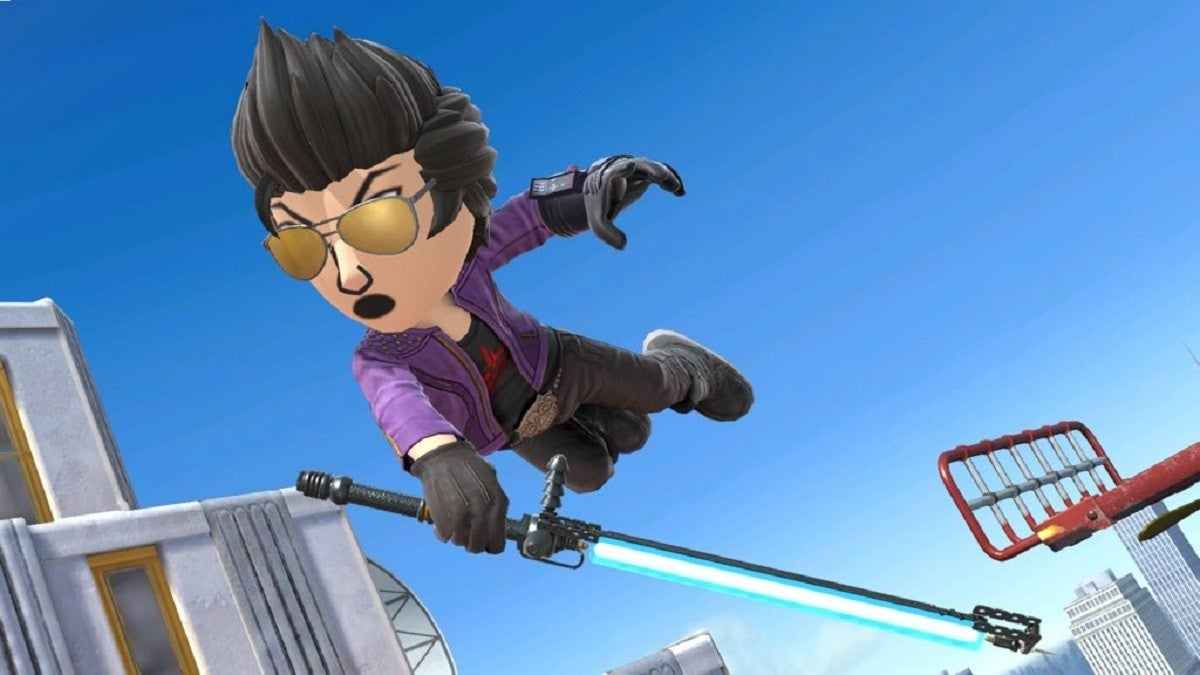 Super Smash Bros Ultimate No More Heroes Travis