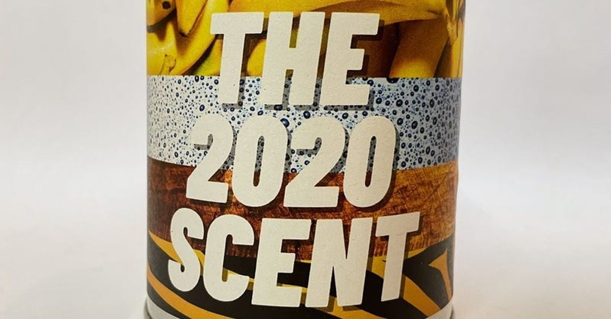 the 2020 scented candle
